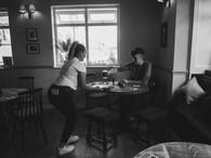 Air Hostess - Social Distanced Serving.j