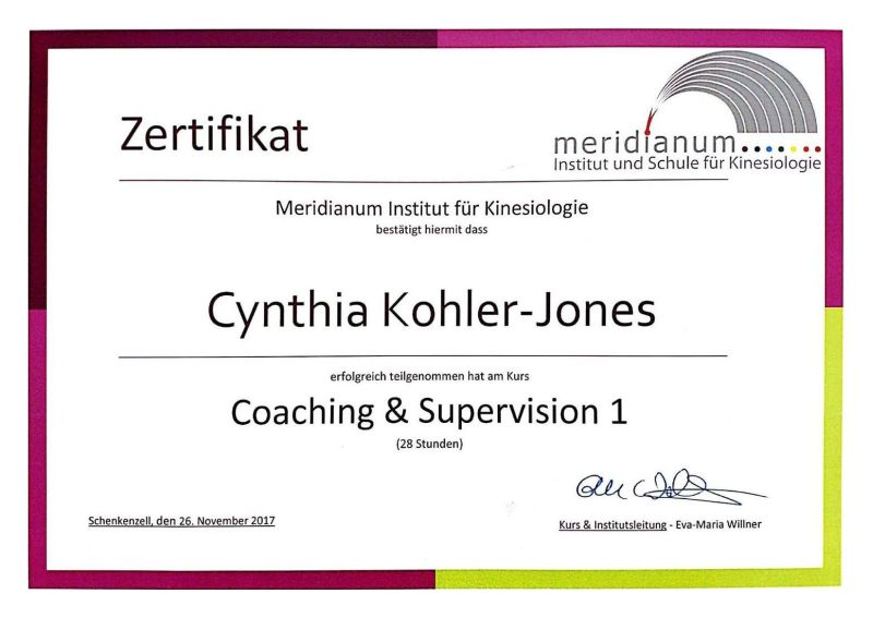 Coaching & Supervision 1