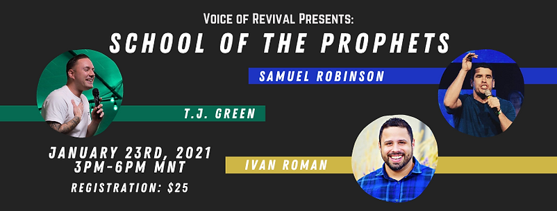 School of the Prophets - Facebook Cover
