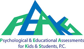 PEAKS Clinic Logo, central coast, san luis obispo, psychological and educational assessments for kids and students