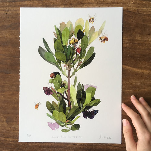 Locust Berry Relationships limited edition print