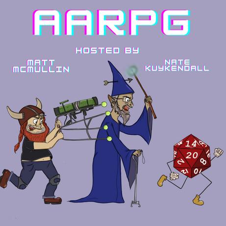 AARPG Podcast Cover Art 2021