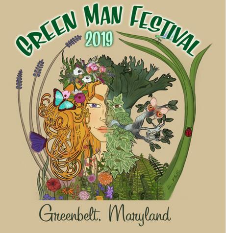 Greenman T-shirt Design