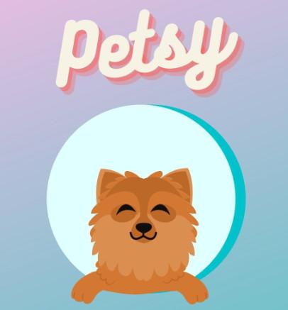 Petsy Logo Desgin