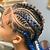 4-6 Braids w/ small braids: Appt Deposit