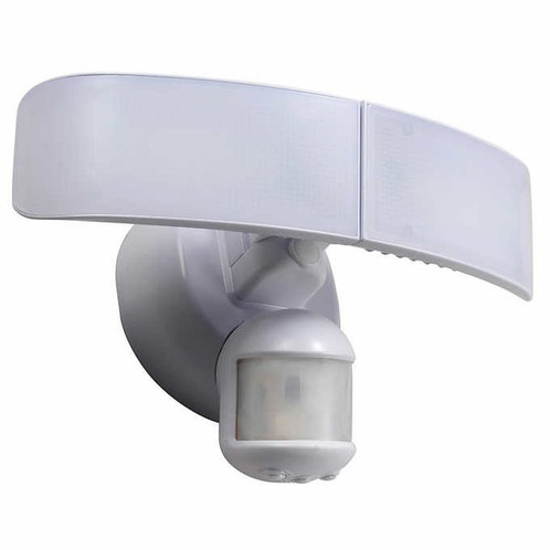 Homezone led motion sensor security light satellite tv home the new homezone security led motion and dusk to dawn fixture utilizes the latest energy efficient led technology cased in low profile aluminum housing aloadofball Gallery