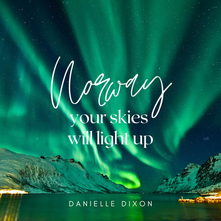 Norway, your Skies will light up with the Glory of God!