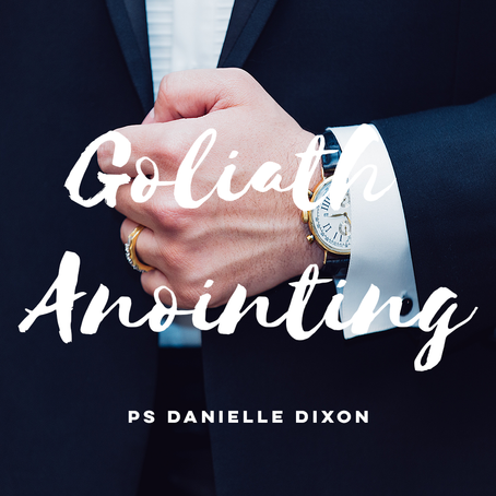 Goliath Anointing