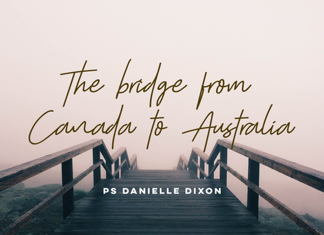 The bridge from Canada to Australia