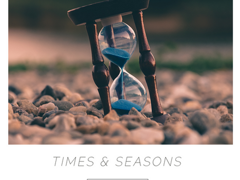 Prophetic Whisper | Times & Seasons