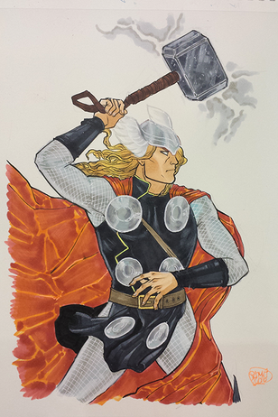 Thor, Color Commission
