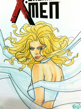 Emma Frost, Color Cover Commission