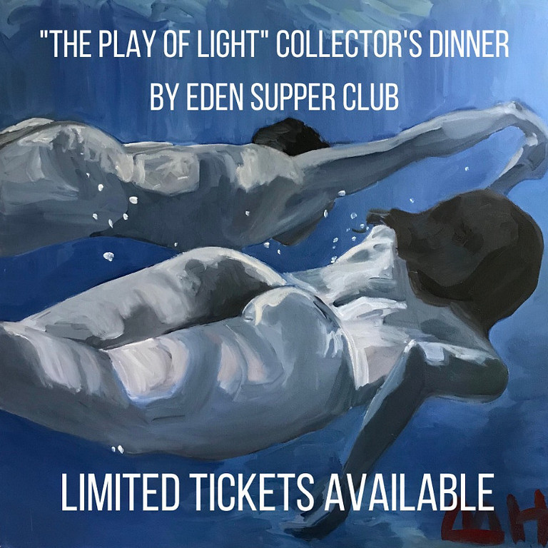 """""""The Play of Light"""" Collectors Dinner"""