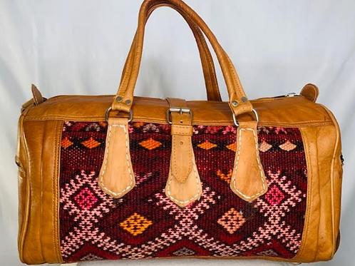 Moroccan Duffel Bag - Evening Gems
