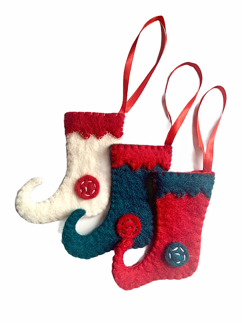 Stocking Ornament Set