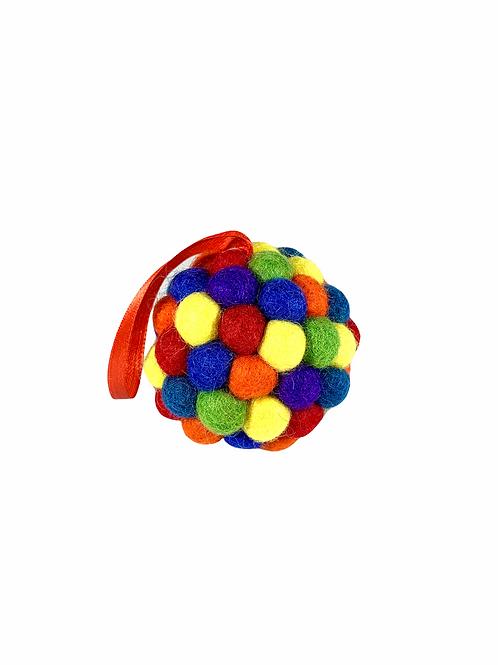 Felt Ball Ornament