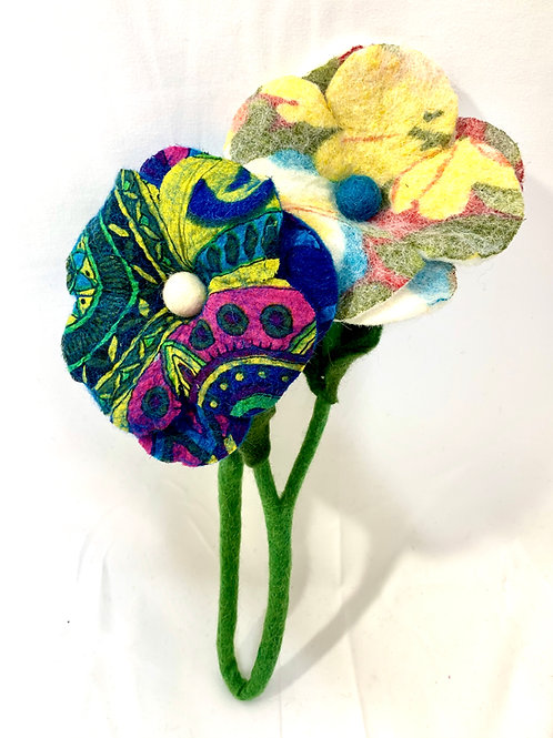 Interfelted Flowers