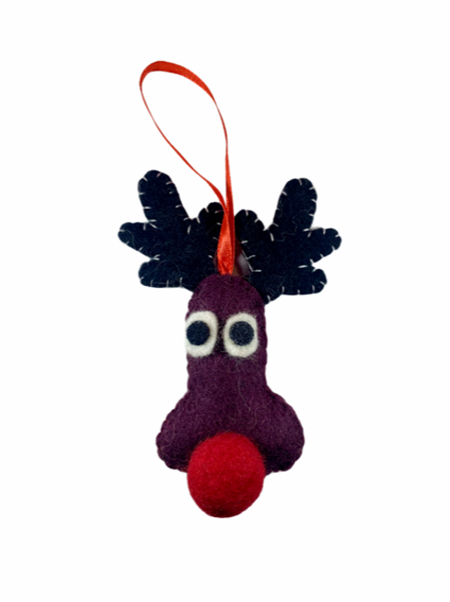 Rudolph Caricature Ornament
