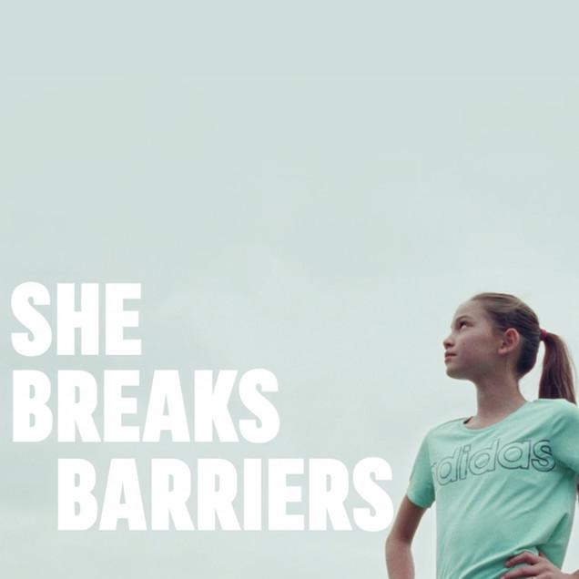 She Breaks Barriers