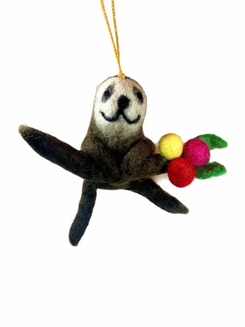 Sloth Ornament