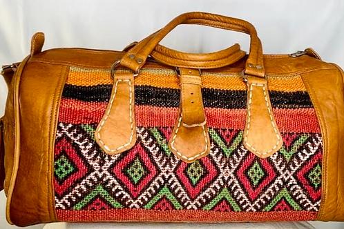 Moroccan Duffel Bag - Desert Nights