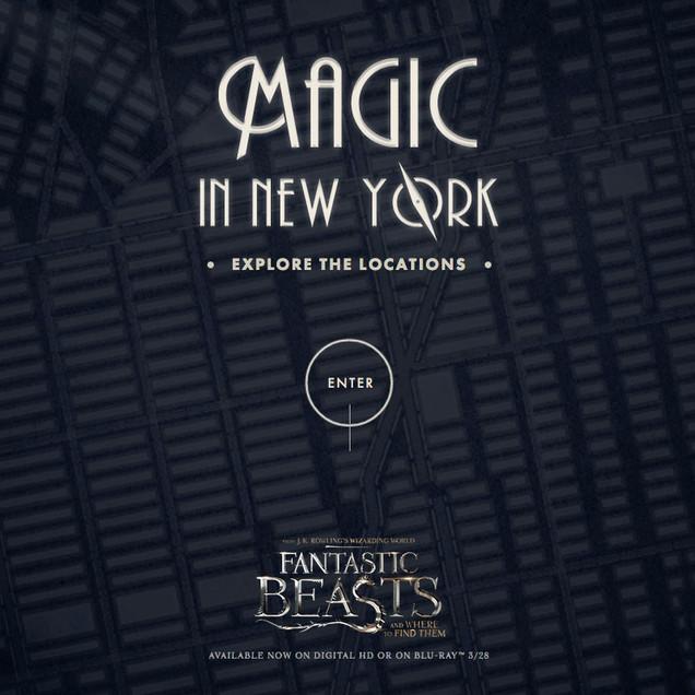 Fantastic Beasts: Magic in New York