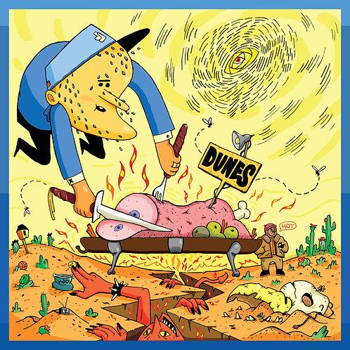 12x12 DUNES: Verbal Cabbage Album Artwork Print