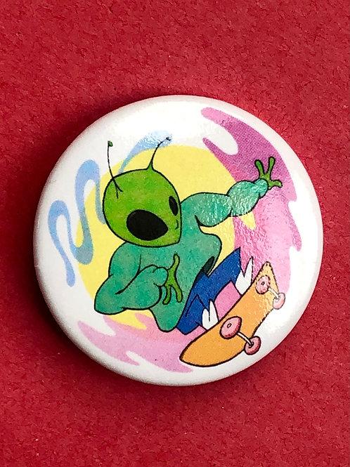 Alien hamburger_jack Button