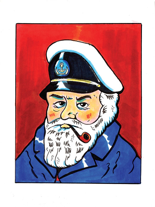 Portrait: Captain
