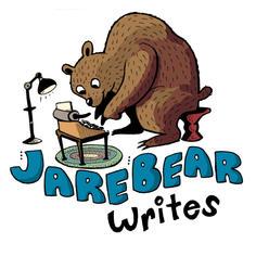 Logo for JareBear Writes instagram page