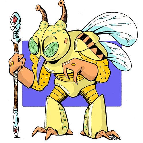 8.5x11 Creature Crew: Gnat (#1)