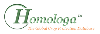 Homologa Logo - Global crop protection database for MRLs and Registered Products