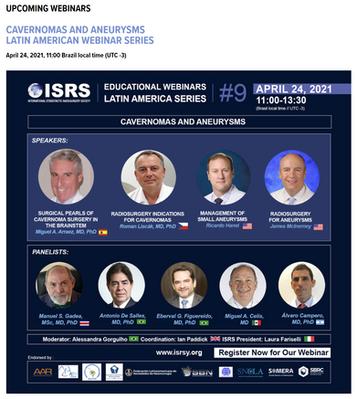 ISRS Webinars