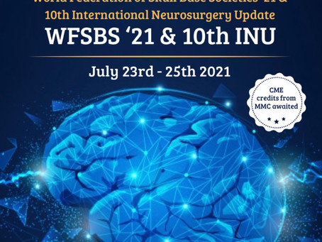 Events outside HKNS: World Federation of Skull Base Societies '21& 10th Int'l Neurosurgery Update