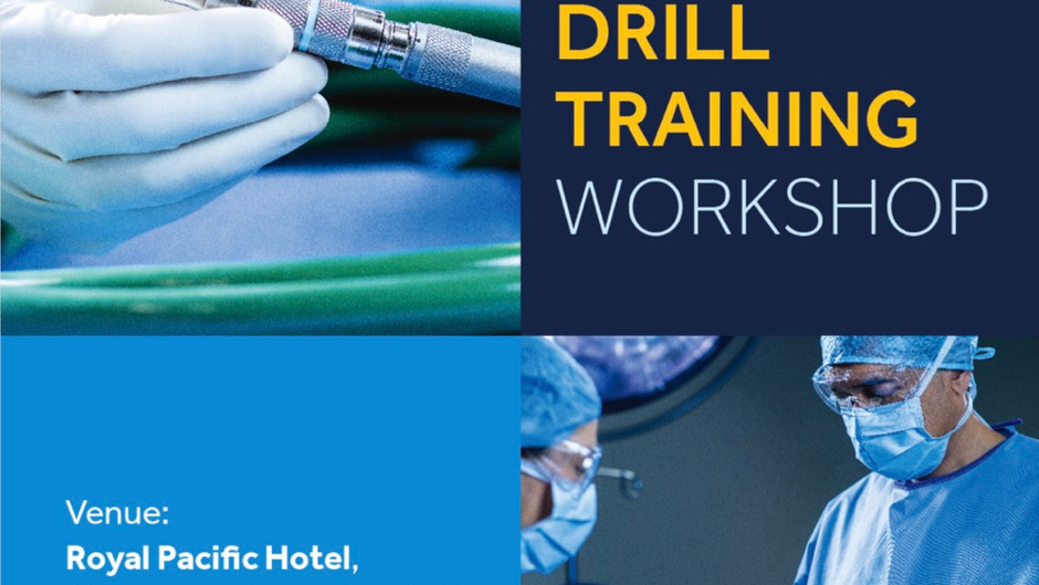 Events outside HKNS: Medtronic High Speed Drill Training Workshop, 21 August 2021
