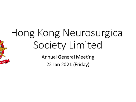 HKNS Events - Annual General Meeting 2020-2021