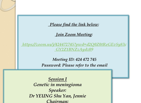 HKNS Monthly Academic Meeting on 8 April 2020(Wed)