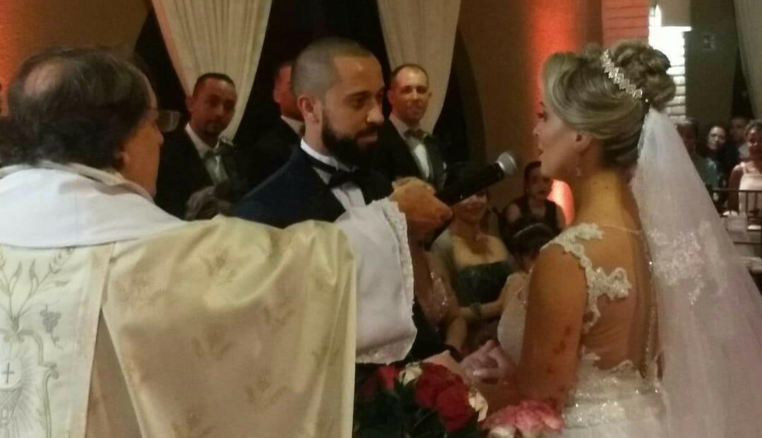 casamento com dj Ricardo Branco