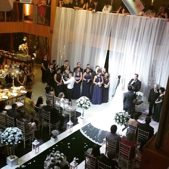 Casamento Tatiana e Márcio !! #buffetdellorso #ricardorehder #djricardobranco
