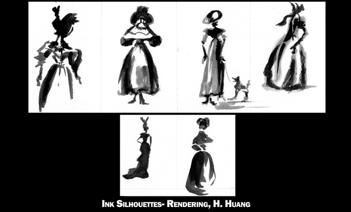 Ink Silhouettes