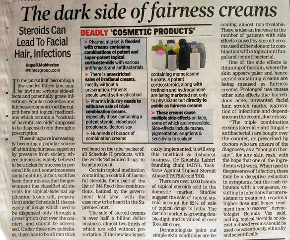 The Fairness Skin Cream Tragedy