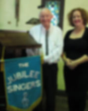 Jubilee Singers musical director and Accompanist