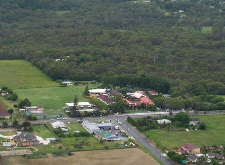 Aerial view of Rochedale State School