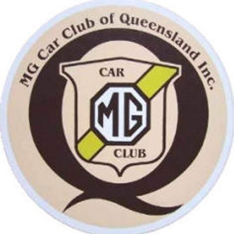 M.G.C.C.Q  Windscreen Sticker