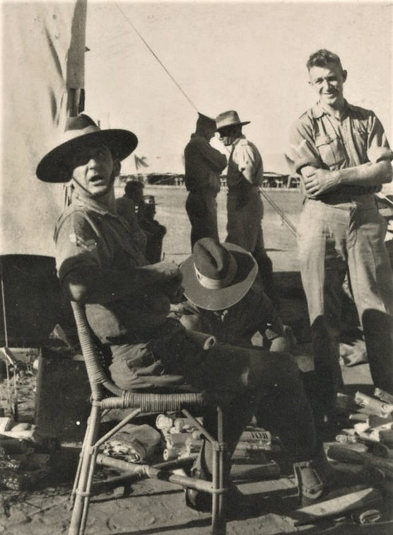 5 1941 Ken Hayes at Camp Hill 69 Palesti