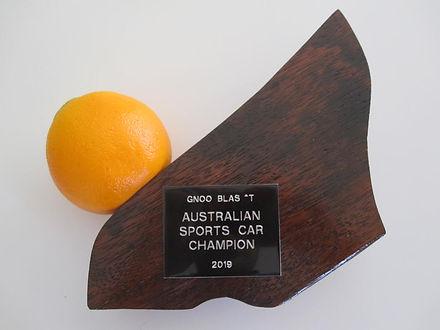 Australian Sports car Champion 2019