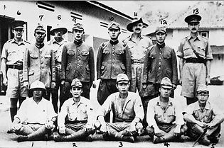 Japanese soldiers in Java
