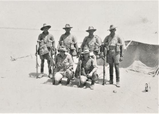 1941 April Unit members at Ikinqi Maryut