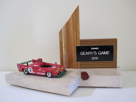 Geary's Game Trophy 2015
