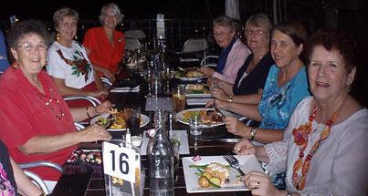 Jubilee Siners social dinner